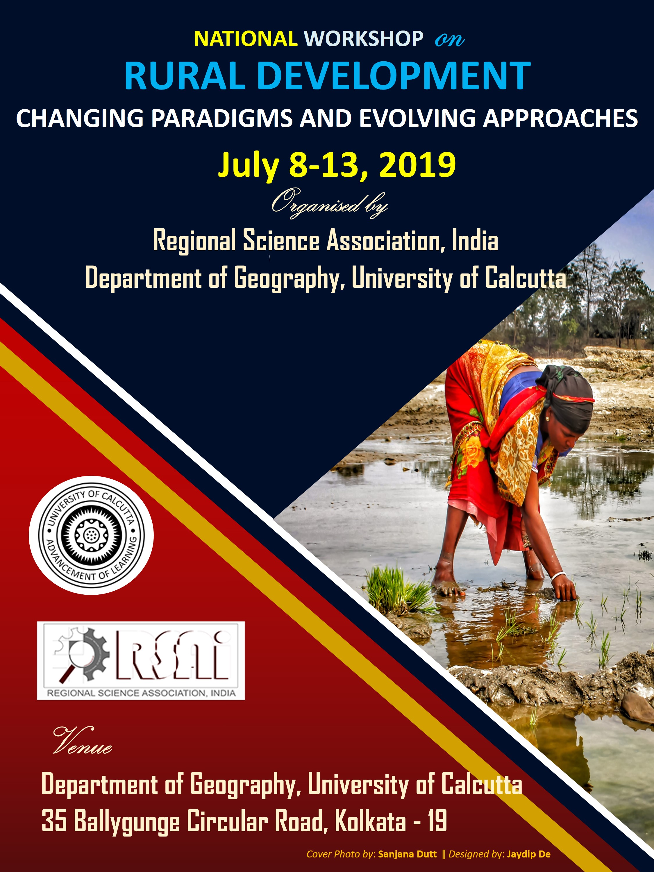 NATIONAL WORKSHOP on RURAL DEVELOPMENT CHANGING PARADIGMS AND EVOLVING APPROACHES