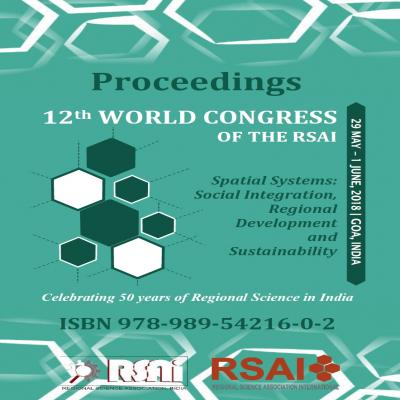 Proceedings of 12th World Congress of the RSAI